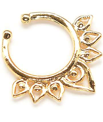 VidaKush Aurora Gold Faux Septum Ring