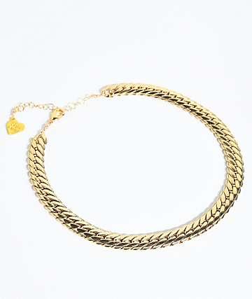 VidaKush Carmela Gold Choker Chain