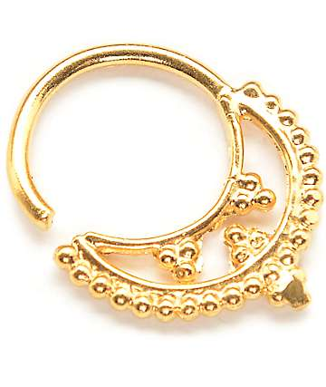 Vidakush Freya Gold Septum Ring