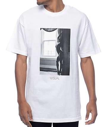 Visual 3 camiseta blanca