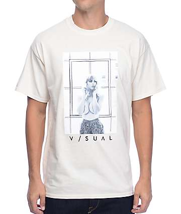 Visual Carpe Diem Cream T-Shirt