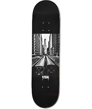 "Visual El Train 8.0"" Skateboard Deck"
