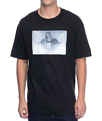 Visual Haze Black T-Shirt