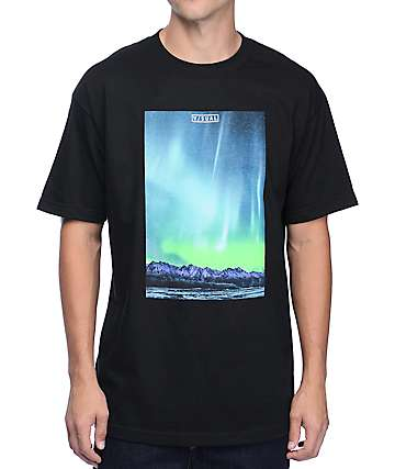 Visual Northern Black T-Shirt
