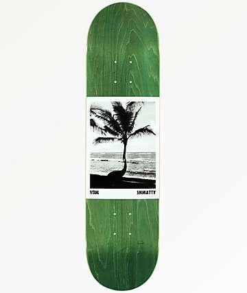 "Visual Shmatty Palm Tree 8.0"" Skateboard Deck"