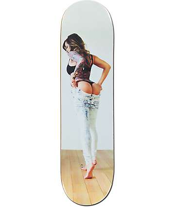 "Visual Slacks 8.0""  Skateboard Deck"