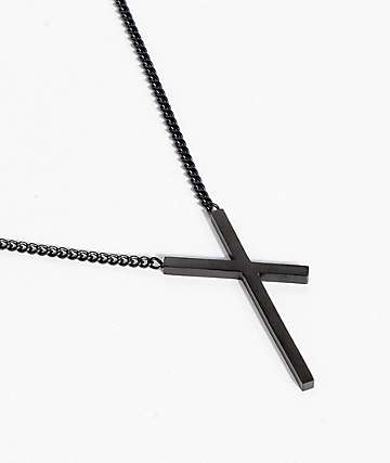 Vitaly Intersekt Black Necklace