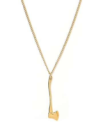 Vitaly Sequoia X Gold Necklace