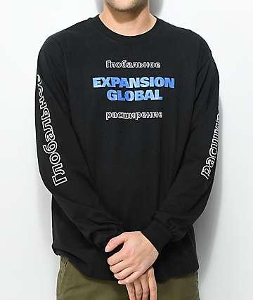 Vitriol Domination Black Long Sleeve T-Shirt
