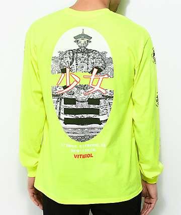 Vitriol Harmony Lime Long Sleeve T-Shirt
