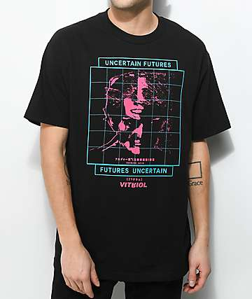 Vitriol Uncertain Black T-Shirt