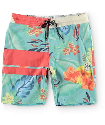 "Volcom 3 Quarta Slingers 19"" Board Shorts"
