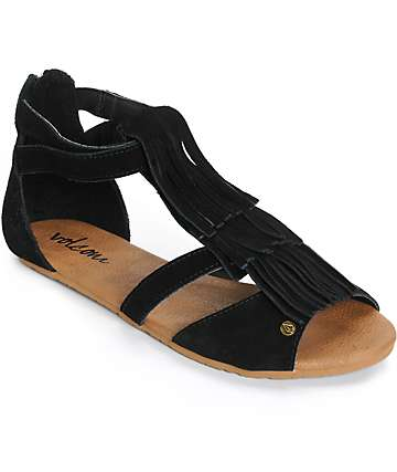 Volcom Backstage Fringe Sandals