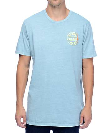 Volcom Blazed Stone Blue T-Shirt