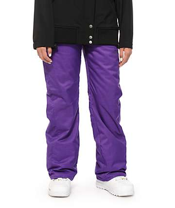 Volcom Boom Purple 8K Insulated Snowboard Pants
