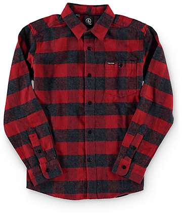 Volcom Boys Echo Flannel Shirt