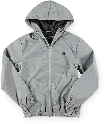 Volcom Boys Ermont Grey Jacket