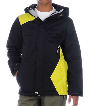 Volcom Boys Fuels Black Snowboard Jacket