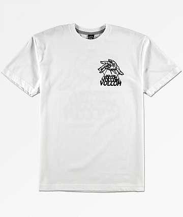 Volcom Boys Puppet White T-Shirt