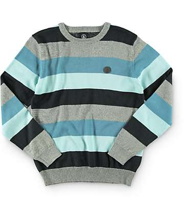 Volcom Boys State Stripe Sweater