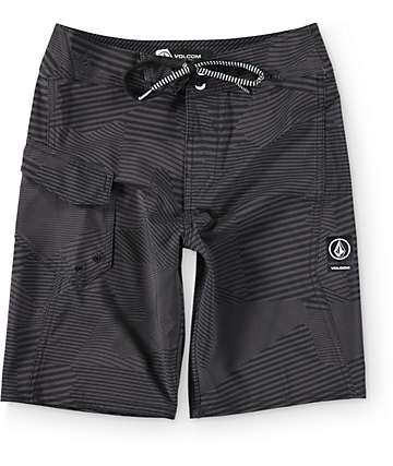 "Volcom Boys Stone Mod Black 18""  Board Shorts"