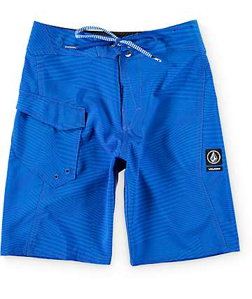 "Volcom Boys Stone Mod Blue 18""  Board Shorts"