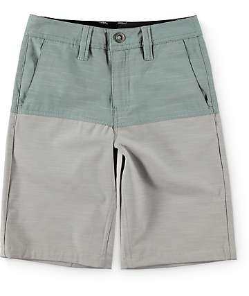 Volcom Boys Surf N Turf Block Hybrid Shorts
