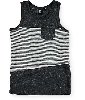 Volcom Boys Threezy Black Tank Top
