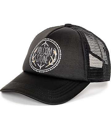 Volcom Carefree Black Mesh Baseball Hat