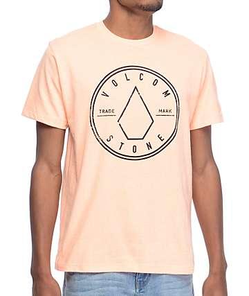 Volcom Caste Pastel Orange T-Shirt