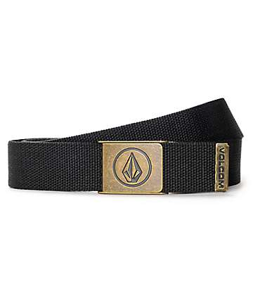Volcom Circle Web Stealth Grey Belt