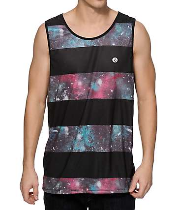 Volcom Cosmic Stripe Tank Top