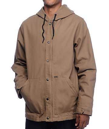 Volcom DD Insulated Teak Work Jacket