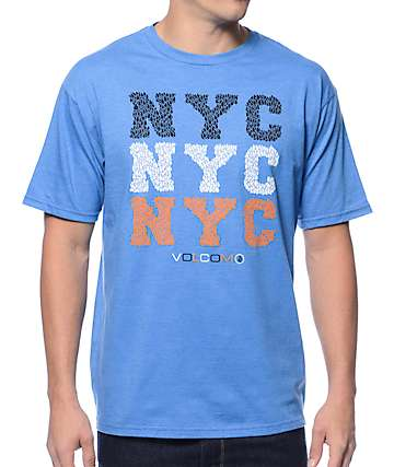 Volcom Dillon New York Blue T-Shirt