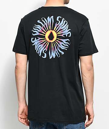 Volcom Doom Bloom Black Pocket T-Shirt