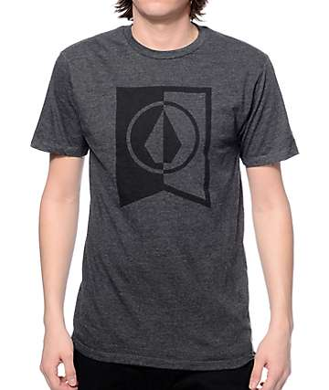 Volcom Elite Heather Black T-Shirt