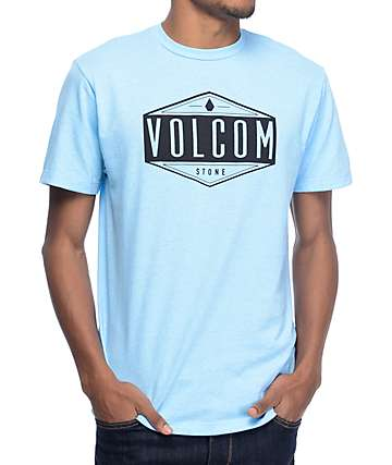 Volcom Era Pastel Blue T-Shirt