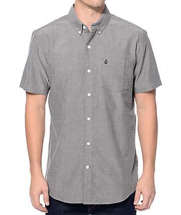 Volcom Everett Black Oxford Button Up Shirt