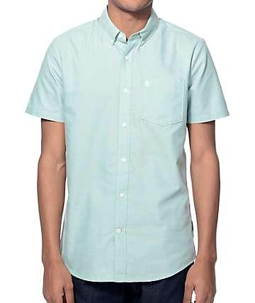 Volcom Everett Green Oxford Button Up Shirt