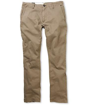 Volcom Faceted Slim Fit Chino Pants