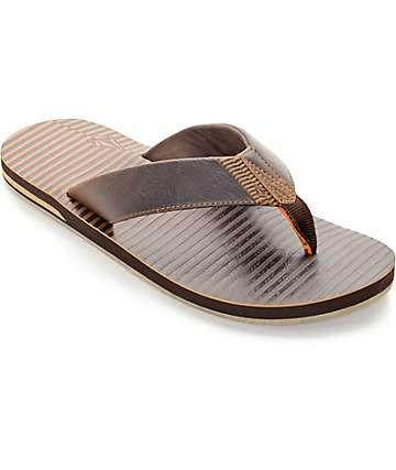 Volcom Fader Brown Sandals
