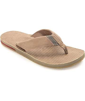 Volcom Fader Tan Sandals
