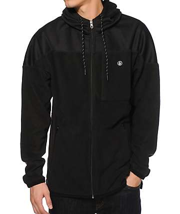 Volcom Falcon Scott Polar Fleece Zip Up Hoodie