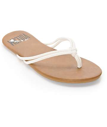 Volcom Forever 2 Hawaii White Sandals