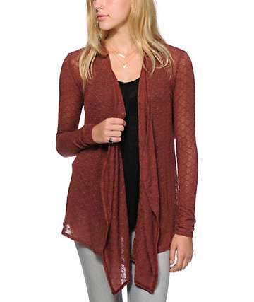 Volcom Free To Go Wrap Cardigan