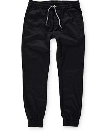 Volcom Frickin Black Jogger Pants