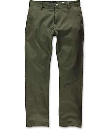 Volcom Frickin Modern Stretch Military Chino Pants