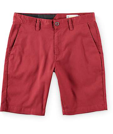 Volcom Frickin Modern shorts en color oporto