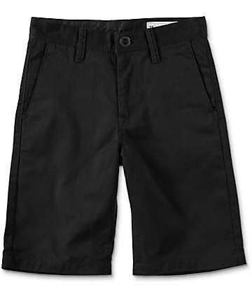 Volcom Frickin shorts chinos en negro para niños