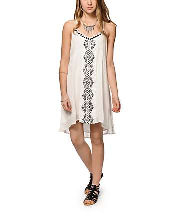 Volcom Frienemy Embroidered Dress